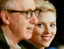Woody Allen quiere a Scarlett Johansson para el film que rodará en España
