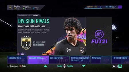 Fifa 21 Central De Fut En Los Menus 21