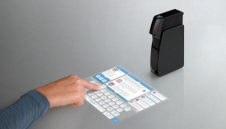 Light Touch, proyectando una pantalla táctil en cualquier superficie