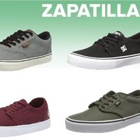 Chollos en tallas sueltas de  zapatillas Vans, Dc Shoes y Etnies en Amazon