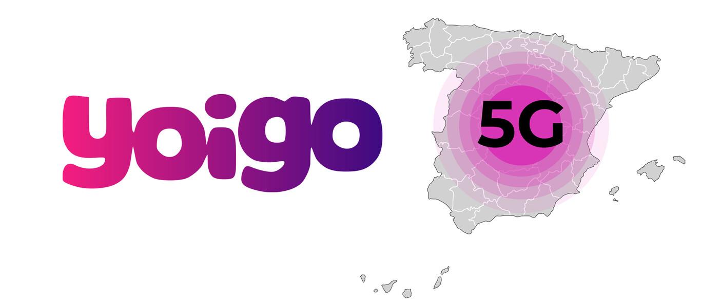 Yoigo amplía la cobertura de su red 5G: ya llega a más de 200 municipios de 35 provincias españolas