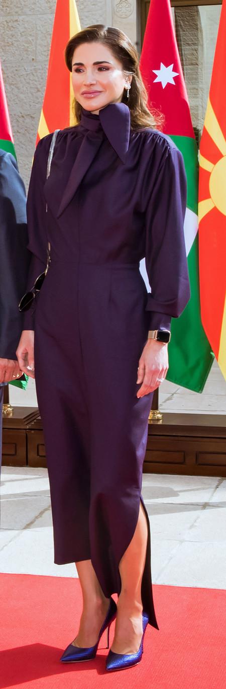 rania de jordania look