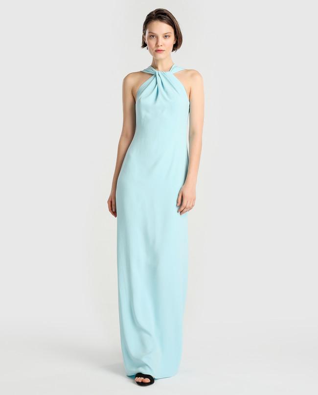 Rebajas Corte Ingles Vestido Azul Invitada
