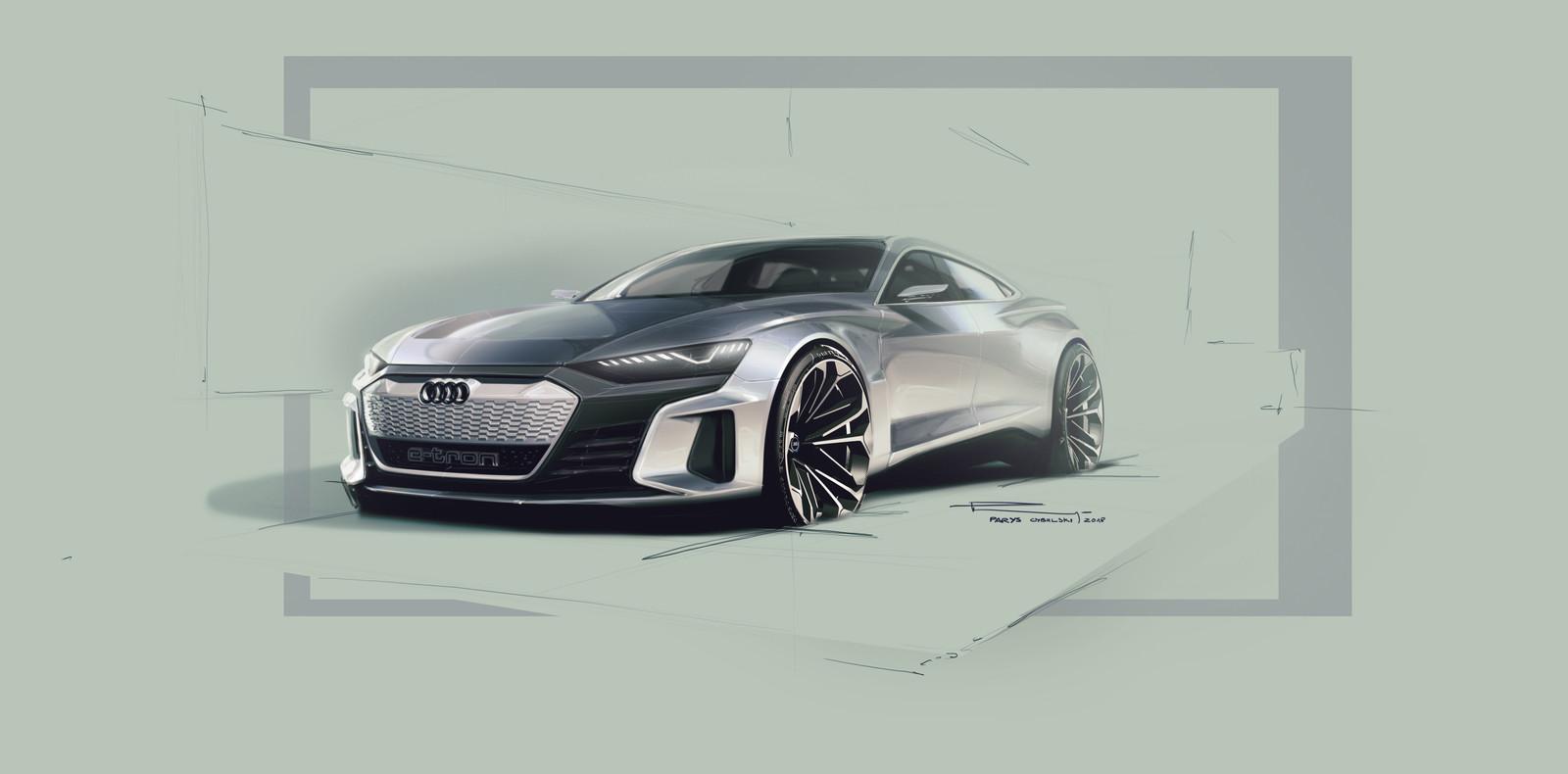 Foto de Audi e-tron GT concept 2018 (20/55)