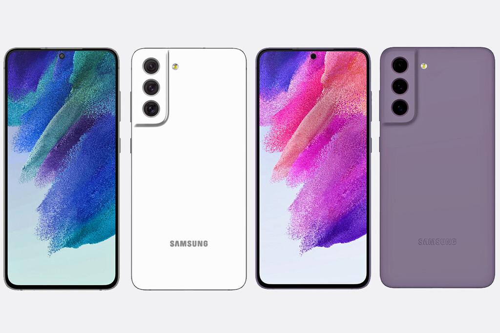 El Samsung Galaxy S21 FE 5G filtrado con un diseño muy similar a los S21 incluyendo el Snapdragon 888