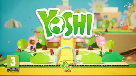 Yoshi protagonizará un videojuego para Nintendo Switch y este es su primer tráiler [E3 2017]
