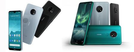 Nokia 7.2 y Nokia 6.2: la evolución pasa por la pantalla y la triple cámara trasera