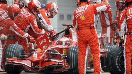 Raikkonen F1 2008