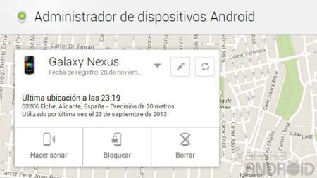 El Administrador de dispositivos Android ya permite bloquear remotamente nuestros dispositivos