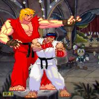 Cuphead: el studio MDHR muestra todos los guiños a Street Fighter II. ¡Están todos luchadores originales!