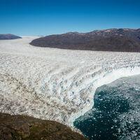 Bajo la capa de hielo de Groenlandia, a 1,4 km de profundidad, descubren plantas fosilizadas