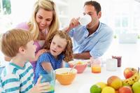 Desayunos en familia, mejor en vacaciones