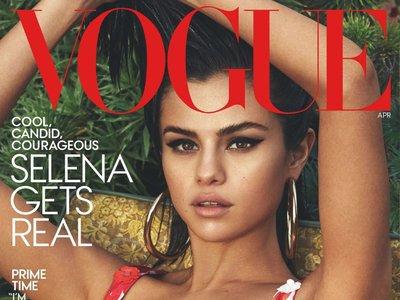 Selena Gomez conquista Vogue US y protagoniza su portada por primera vez