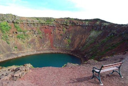 Islandia: Un cráter perfecto llamado Kerið
