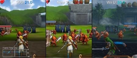 Hyrule Warriors para el nuevo Nintendo 3DS se comporta mejor que su equivalente para Wii U