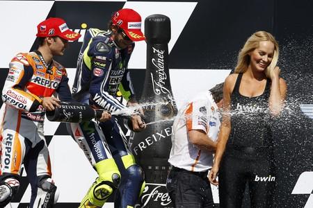 Dani Pedrosa Valentino Rossi Gp Republica Checa Motogp 2014