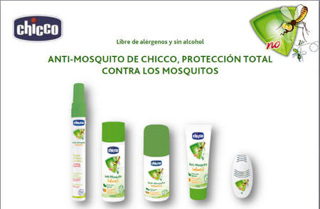 Gama 'anti mosquito' con ingredientes naturales, de Chicco