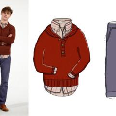 Foto 3 de 10 de la galería looks-ilustrados-de-andrew-mashanov-para-gant-rugger en Trendencias Hombre