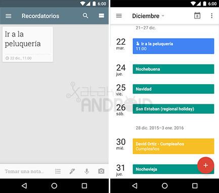 Calendario Recordatorios