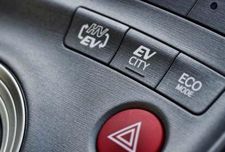 Modos de conducción Prius plug-in