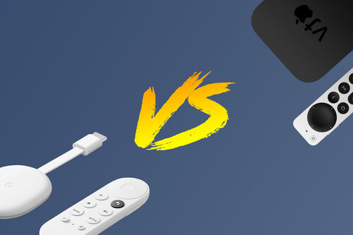 Apple TV VS Chromecast con Google TV: ¿cuál es el mejor centro multimedia para el televisor?