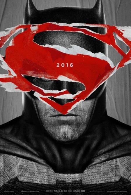 Póster del Caballero Oscuro en Batman V Superman