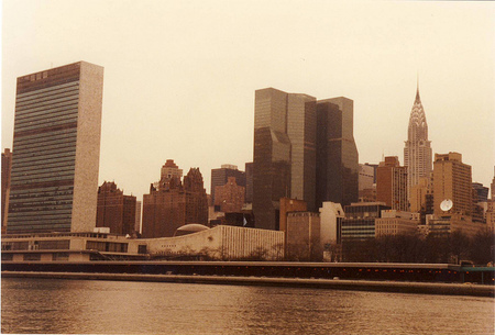 La sede de las Naciones Unidas en Nueva York
