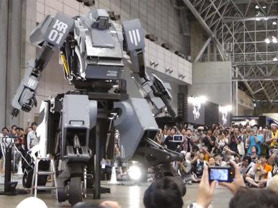 No es un transformer; es un mecha real y promete dar una paliza a MegaBot