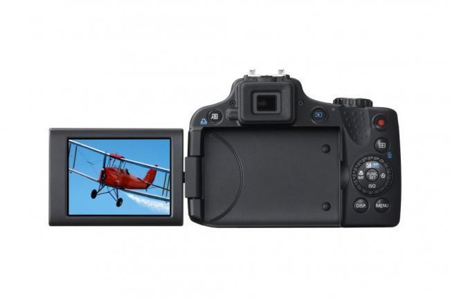 PowerShot SX50 HS Pantalla abatible lateral