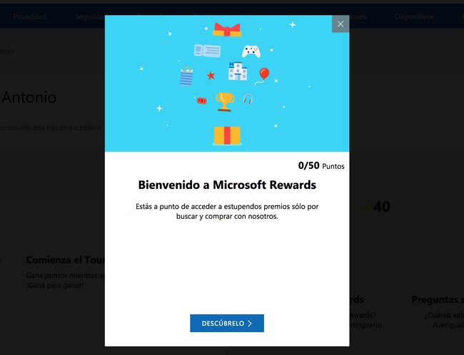 Microsoft Rewards 1
