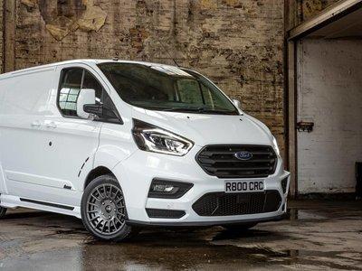Ford MS-RT Transit Custom: la furgoneta más 'racing' del mercado es sólo para Reino Unindo