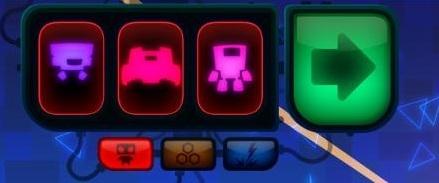Robotek selección de unidades
