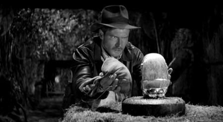 Indiana Jones mudo y en blanco y negro, por Steven Soderbergh