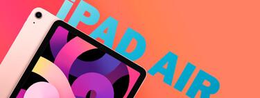 Descuento de 105 euros en Amazon del iPad Air (2020) más vitaminado con conectividad Cellular y 256 GB para apps y muchos archivos