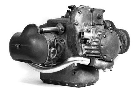 Motor BMW WR 500 Kompressor