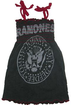 Vestido de los Ramones para niñas