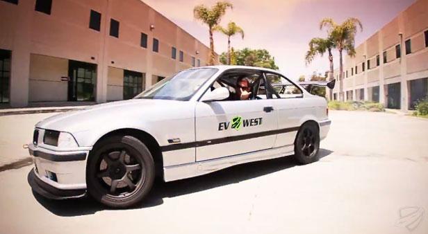 BMW M3 EV West