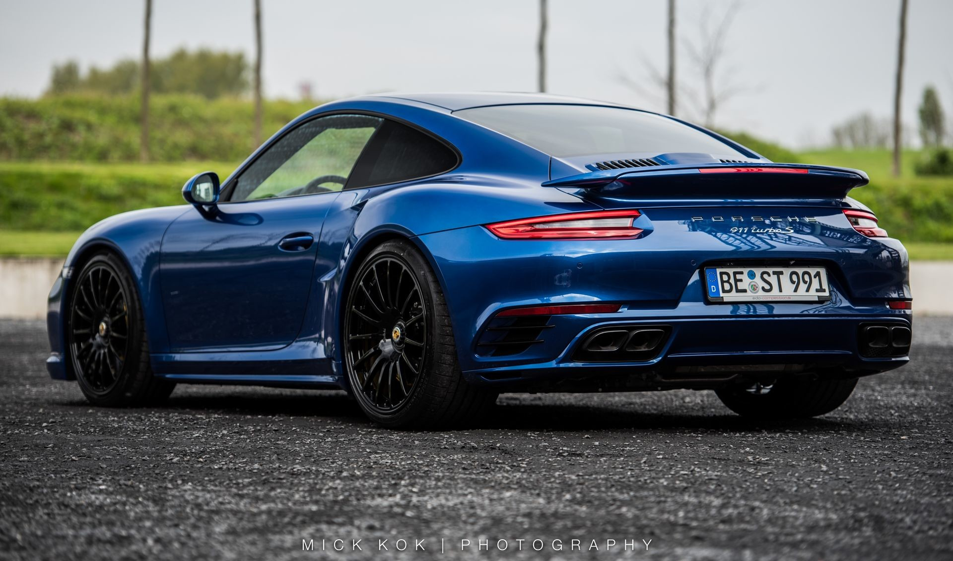 Foto de Porsche 911 Turbo S Blue Arrow (3/25)