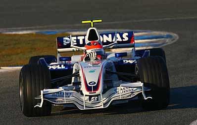 Kubica por delante de Hamilton en Jerez