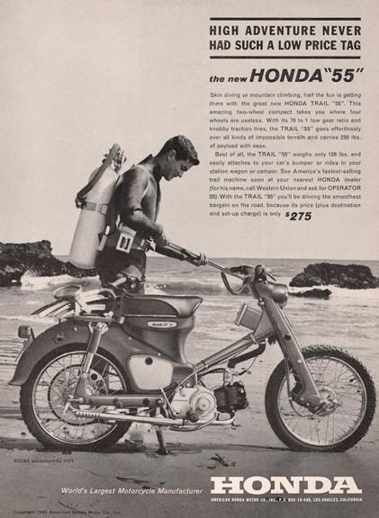 Scuba Honda