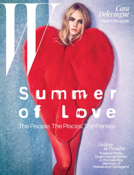 W Magazine:   Cara Delevingne