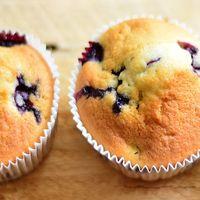 Receta: Muffins de Blueberry con esencia de vainilla