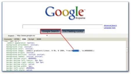 Firebug CSS Chrome
