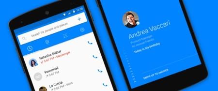 Facebook presenta Hello, una aplicación de teléfono para Android