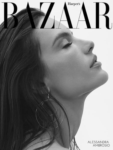 Alessandra Ambrosio Harpers Bazaar 1