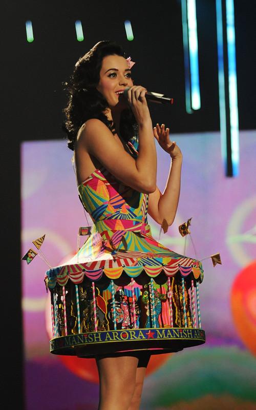 Katy Perry en los MTV Europeos 2008