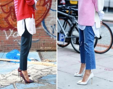 leandra medine ripped jeans