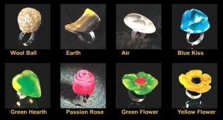 San Valentín: anillos de caramelo de Escribà
