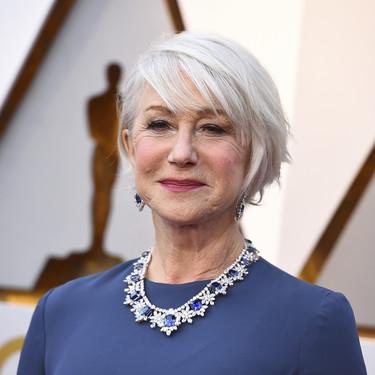 Oscar 2018: Helen Mirren nos deja un sabor agridulce con su vestido obvio y su collar de muerte