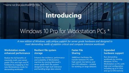 Se filtran detalles sobre una nueva versión de Windows 10 para ordenadores avanzados